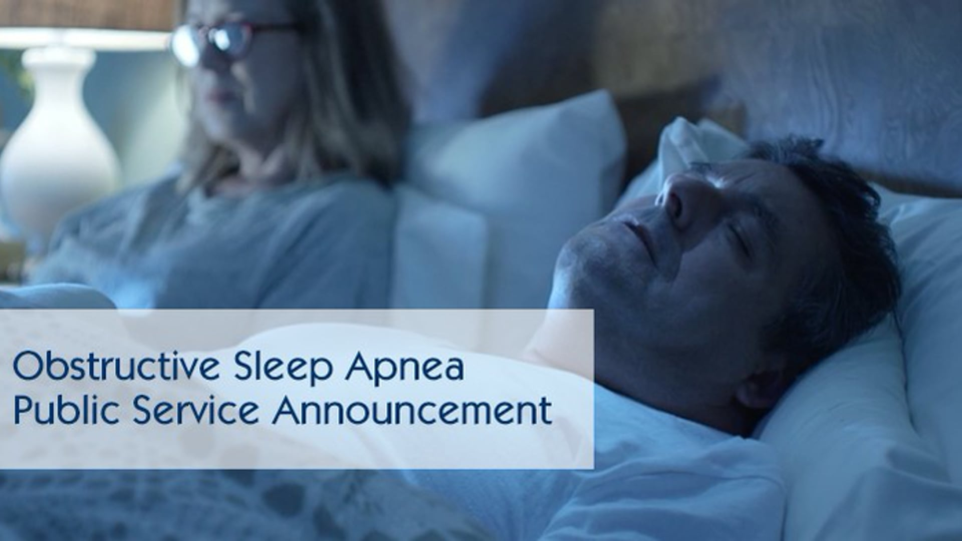 Obstructive Sleep Apnea is a serious and life-threatening condition