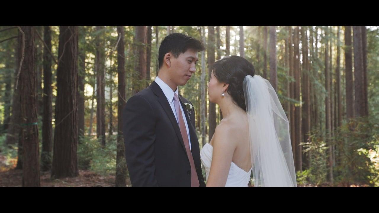 Mindy + Alex | Nestldown Wedding