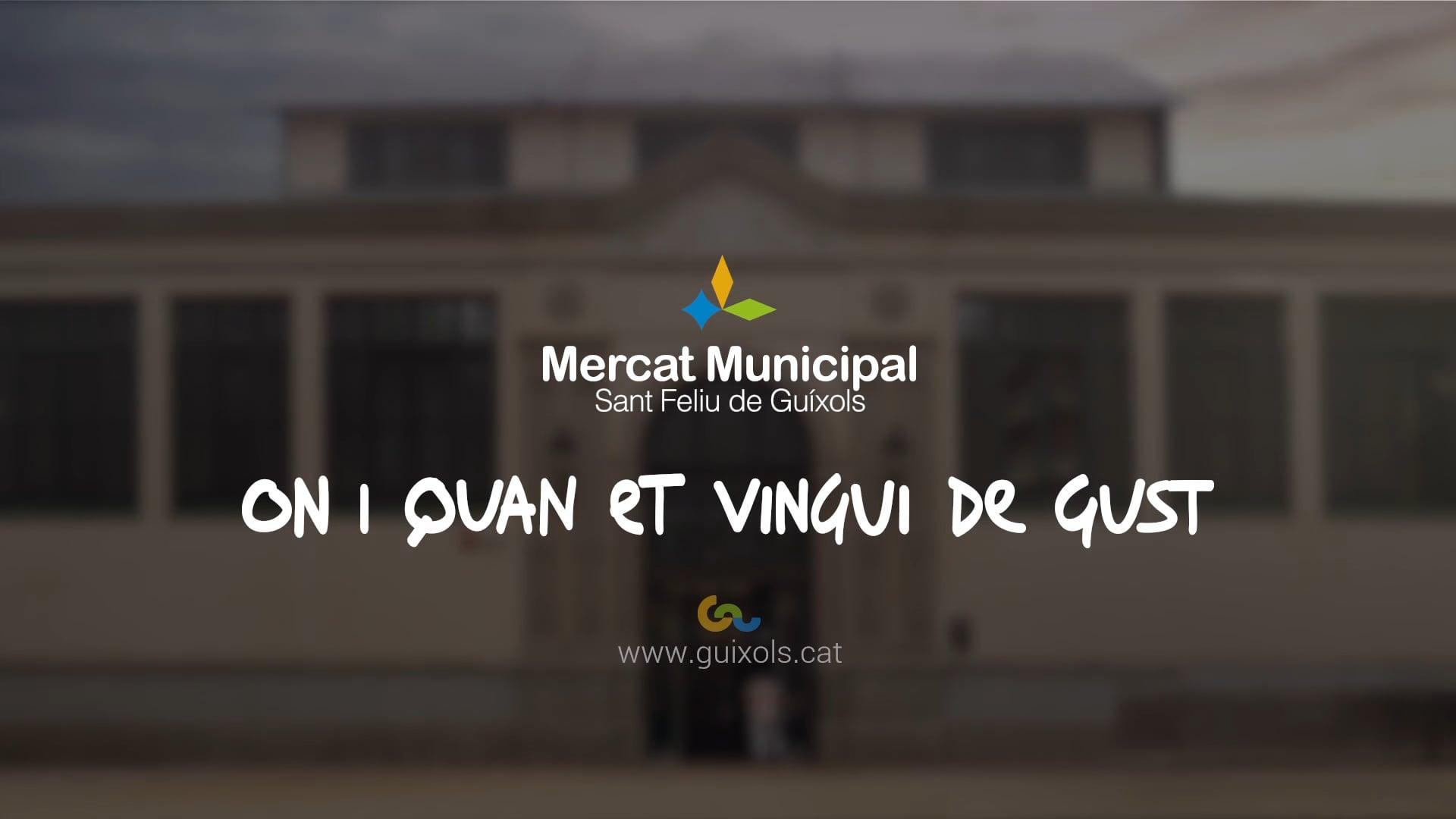 Mercat Municipal Sant Feliu de Guixols