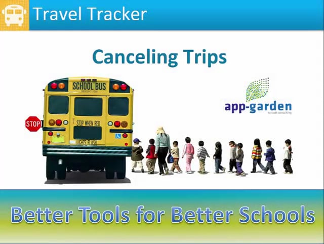 Canceling trips