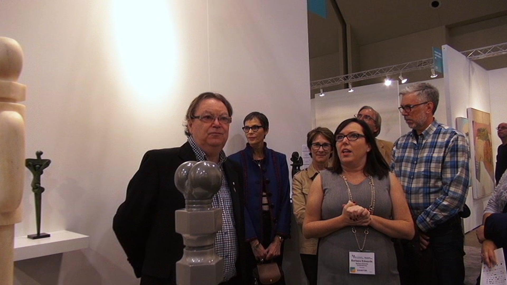 BEC Lecture, Toronto Art Fair Edition