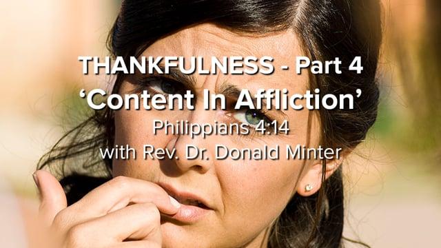 Thankfulness - Part 4