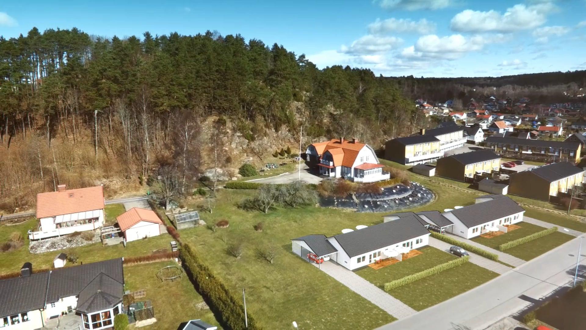Talmansvegen 3D and drone tracking