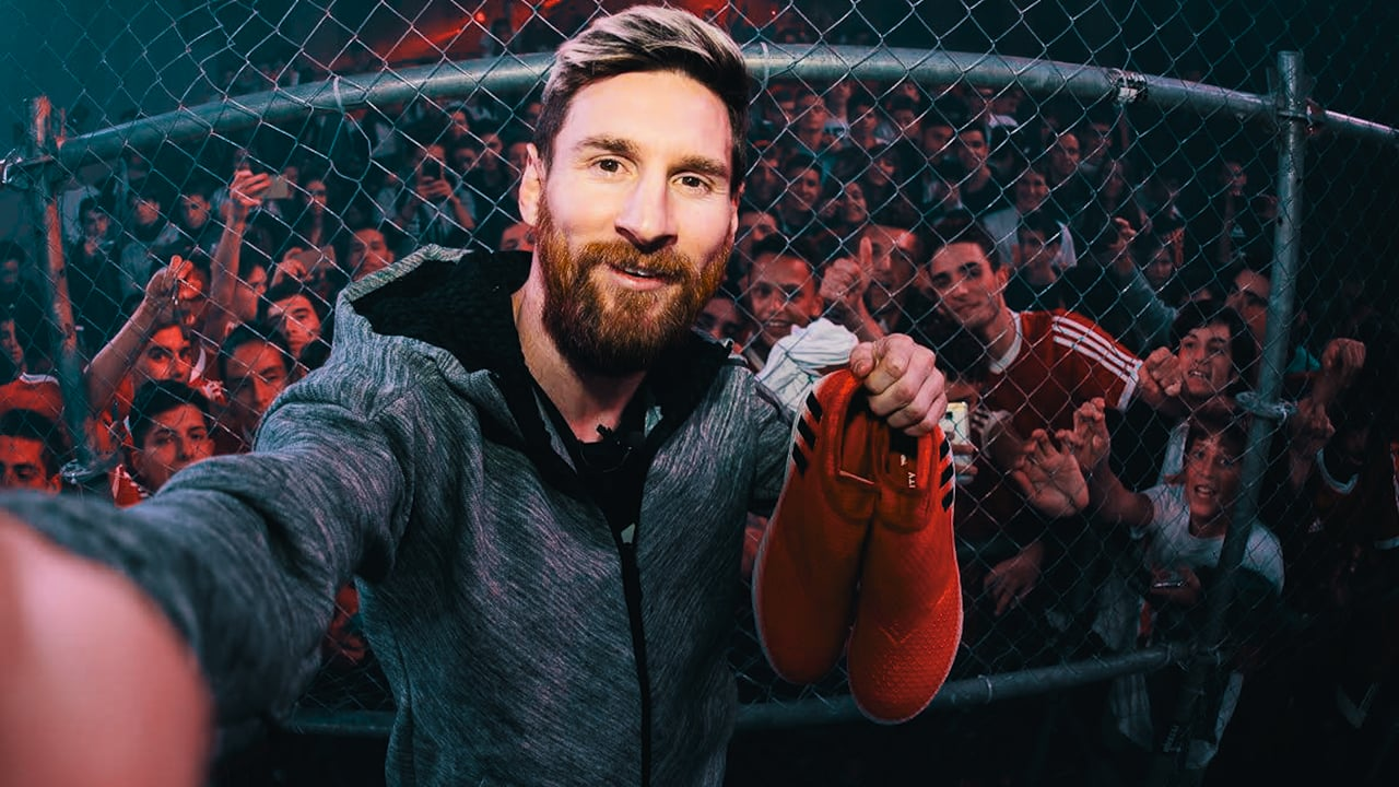 Messi 16 Red Limit