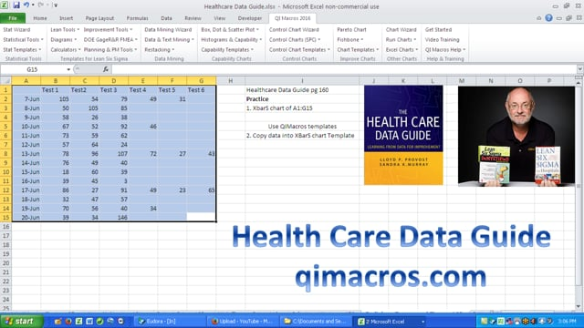 Health Care Data Guide Radiology Turnaround XbarS 160
