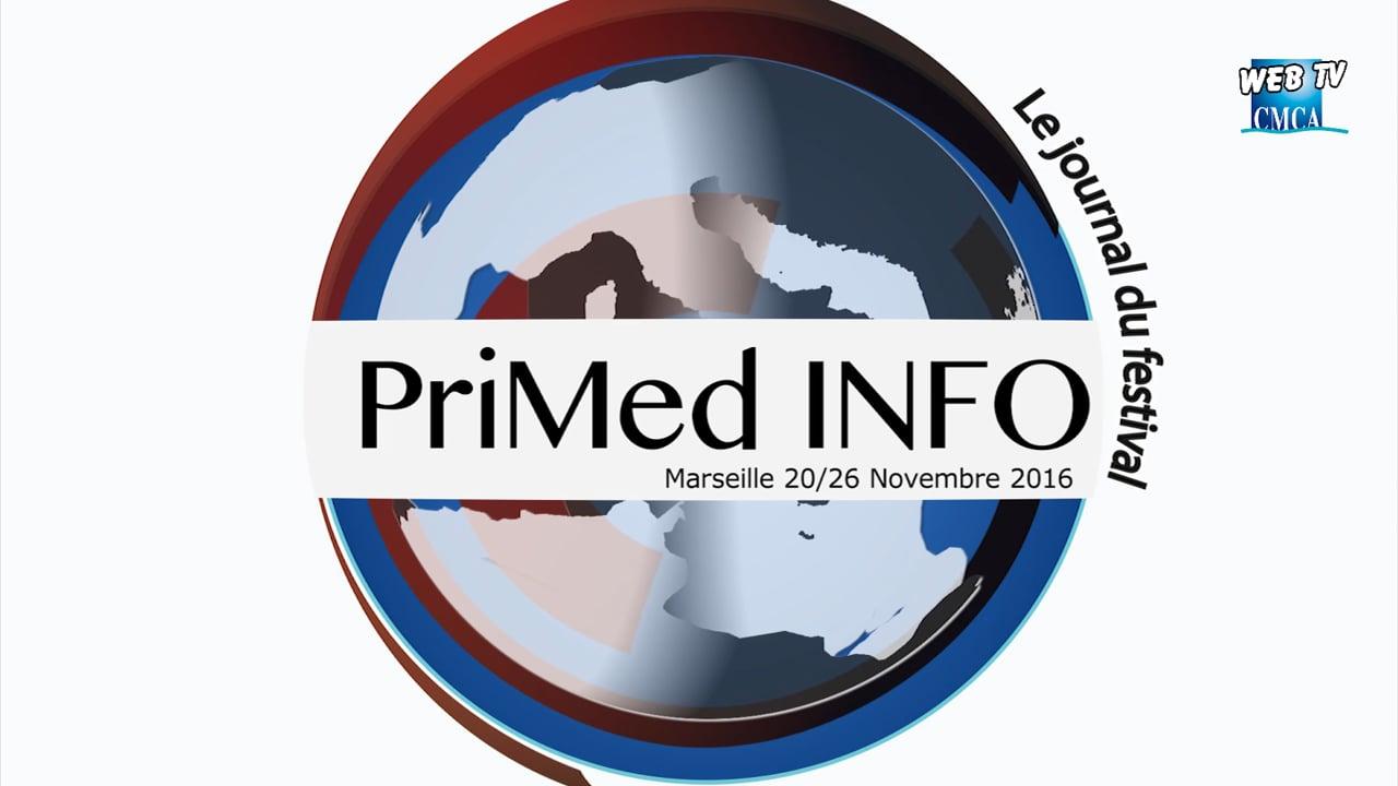 PriMed INFO 2016 - Vendredi 25 Novembre