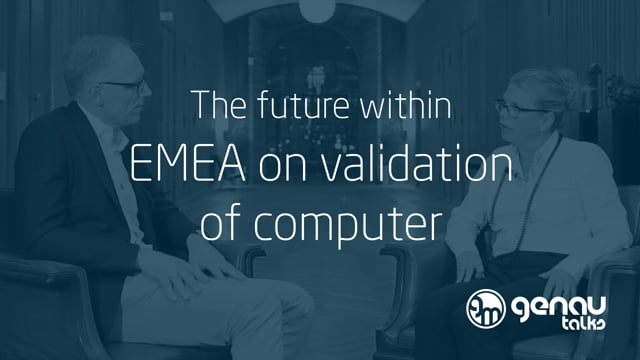 The future within EMEA on validation of computer systems.