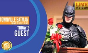 Batman Brings Hope to a Healing Community