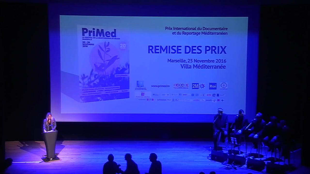 PriMed 2016 - Remise des Prix