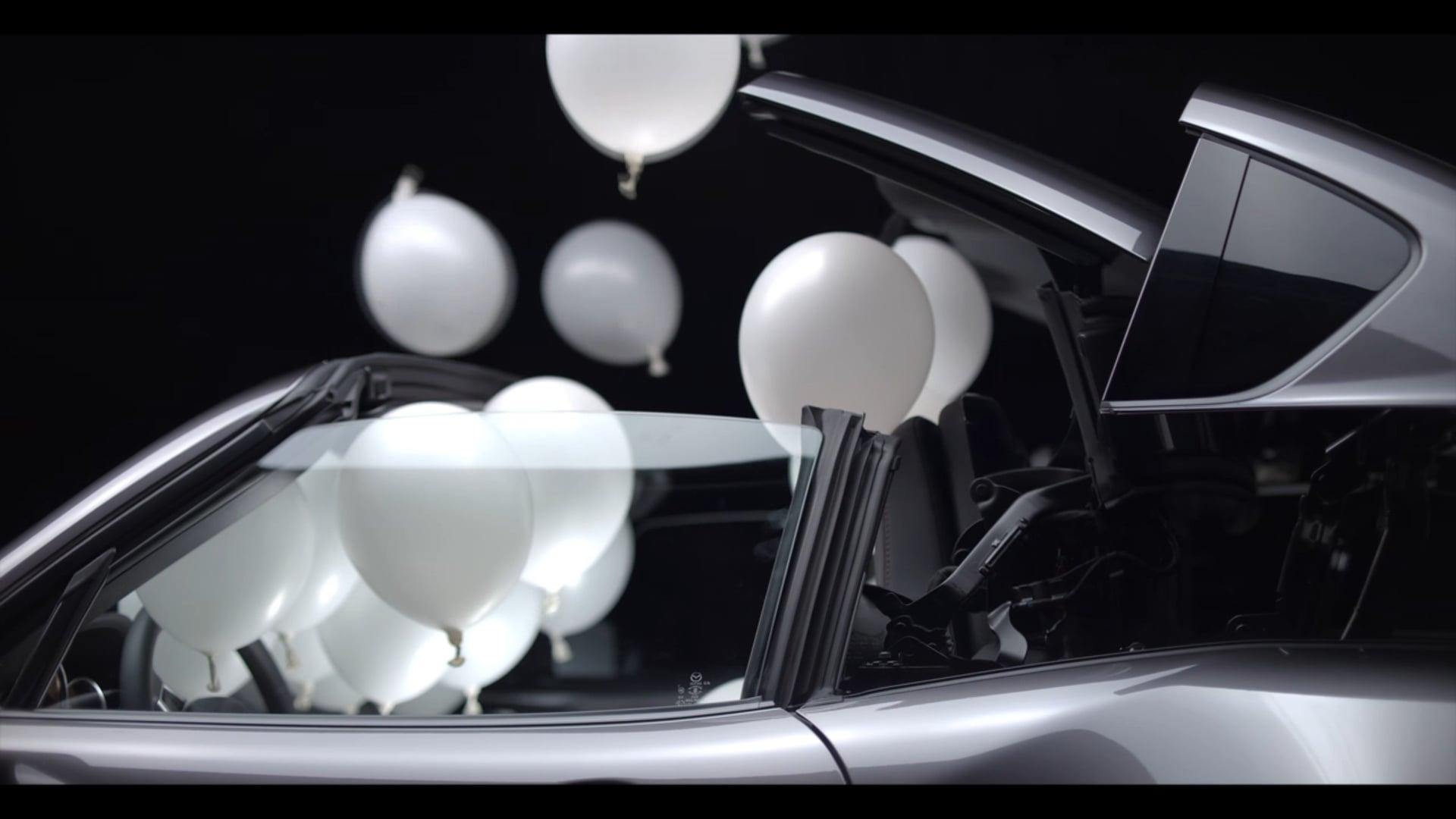 Mazda MX5 RF Balloons