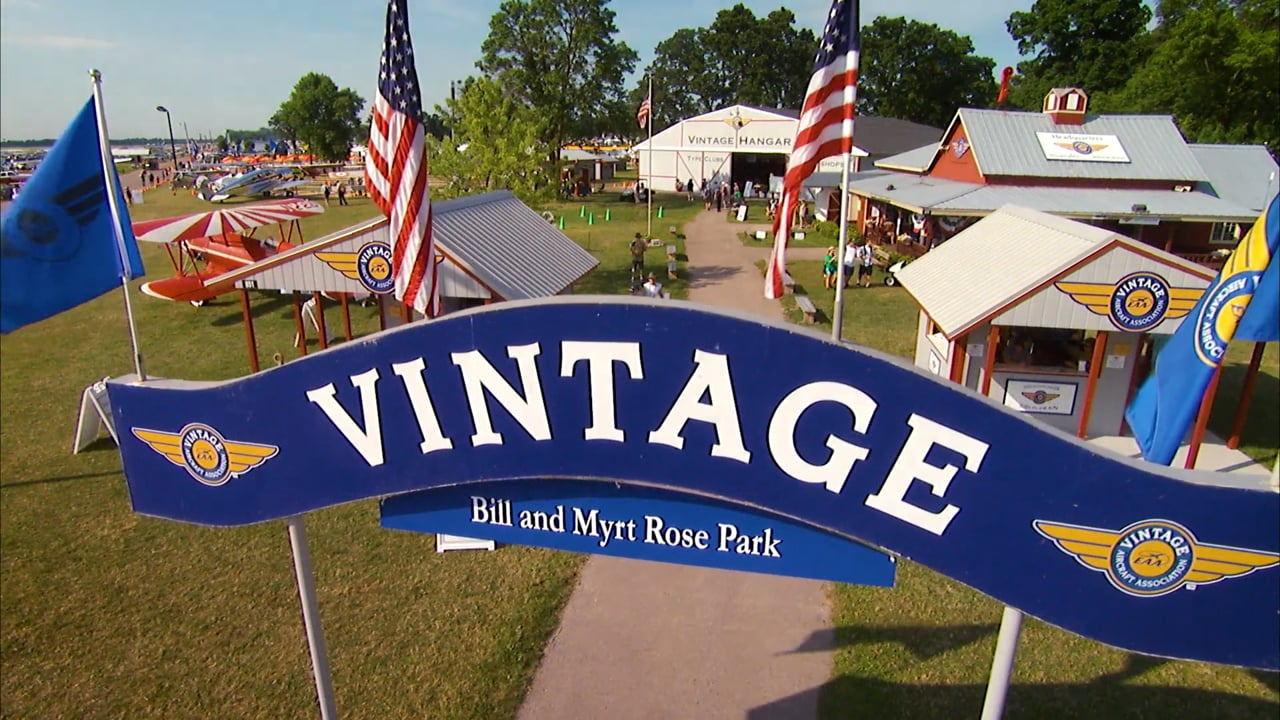 A Tour of Vintage AirVenture 2016