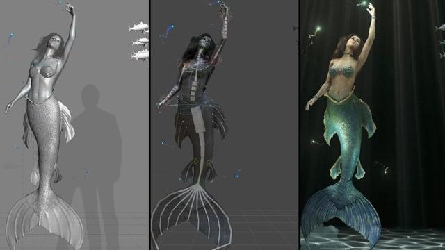 Magic Mirror - Making of Mermaid AR