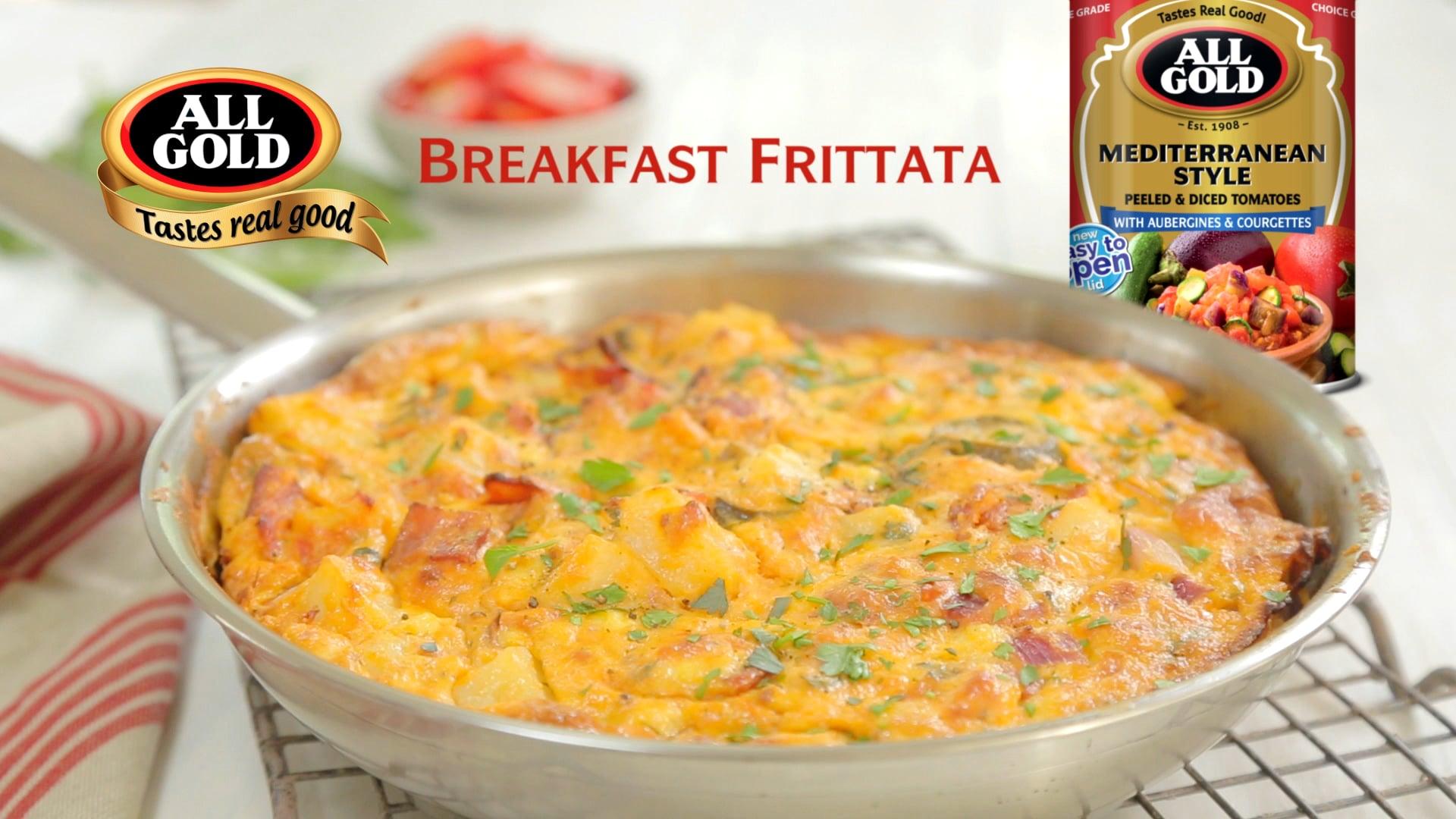 All Gold Breakfast Frittata