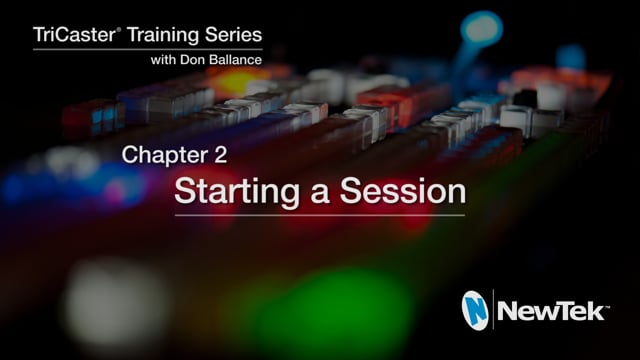 02 Starting a Session