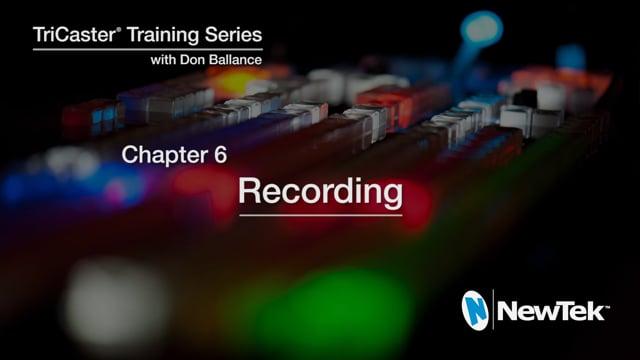 06 Recording