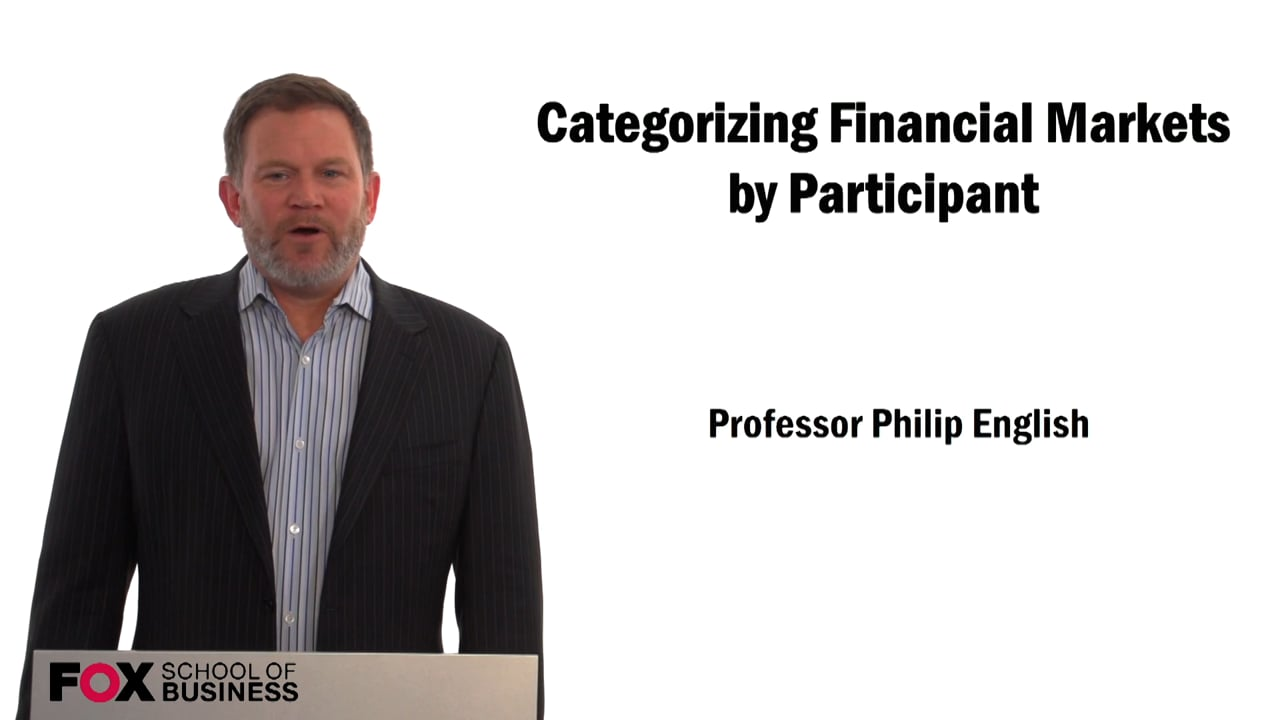 59283Categorizing Financial Markets by Participants