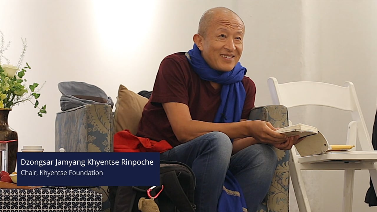 Words of DJKR - Opening Remarks at 2016 KF Board Meeting 宗薩欽哲仁波切2016年欽哲基金會董事會致辭