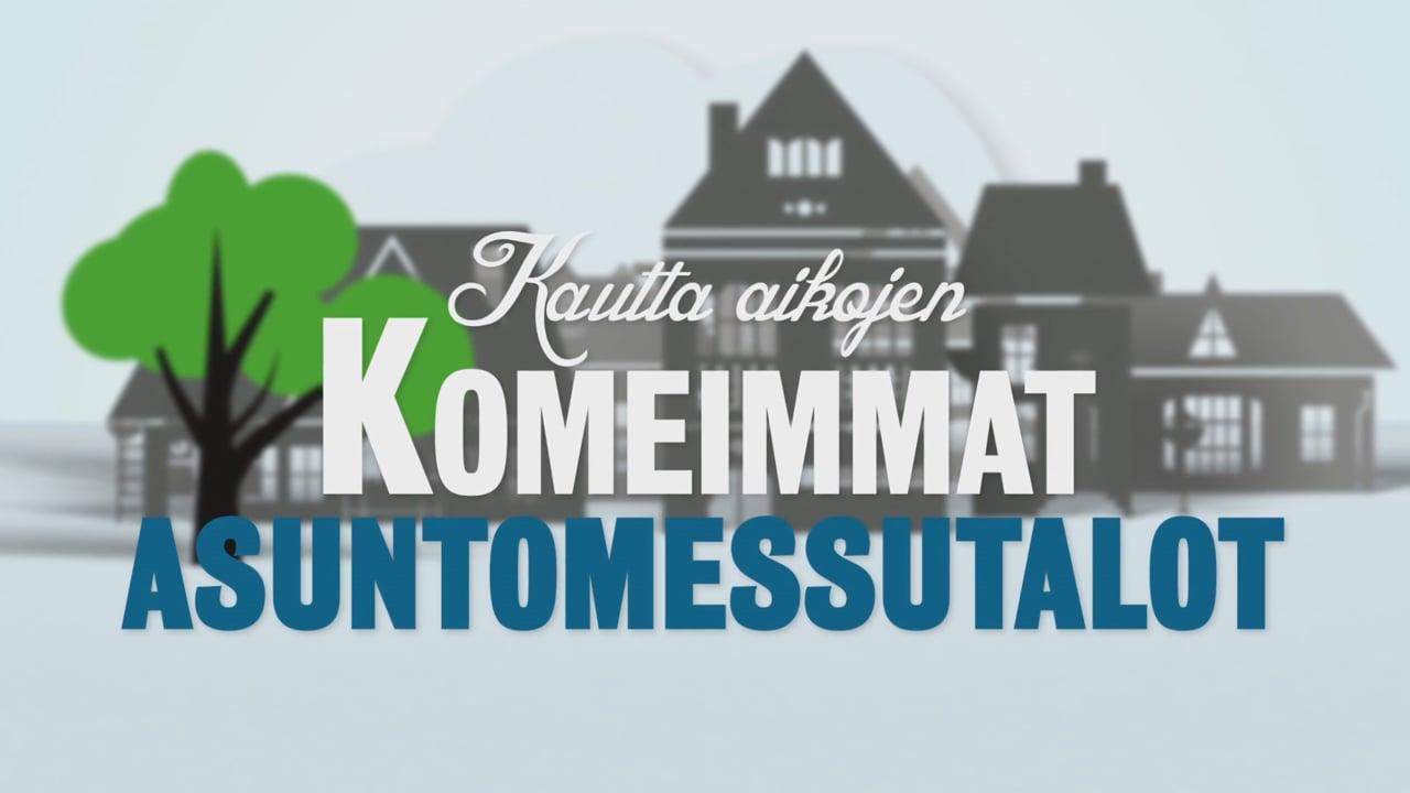 Komeimmat asuntomessutalot - Trailer