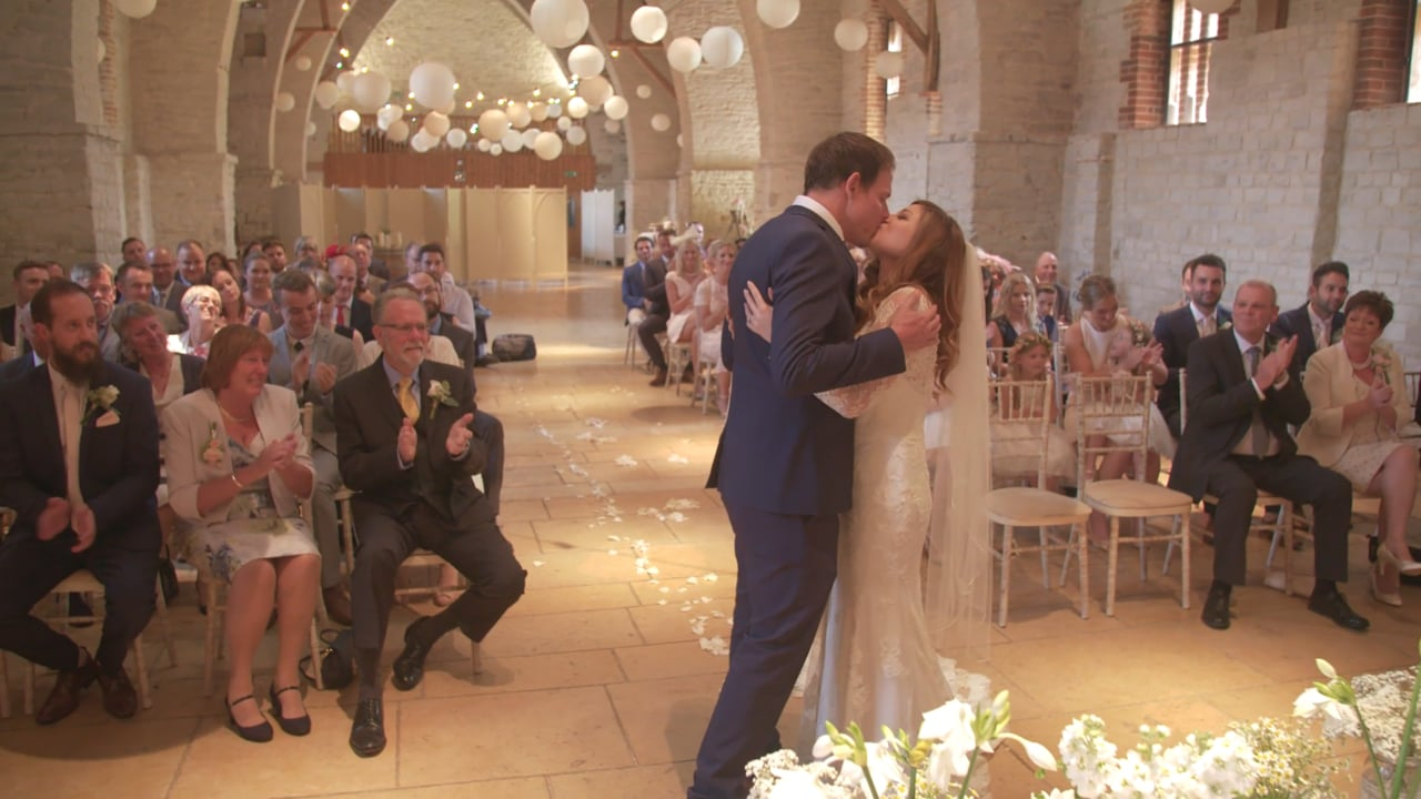 Becky and Mark - Tithe Barn. Petersfield, Hampshire