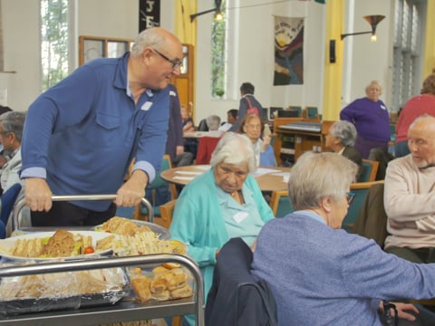 The Memory Café at St Cuthbert's North Wembley