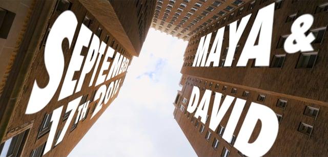 Maya & David