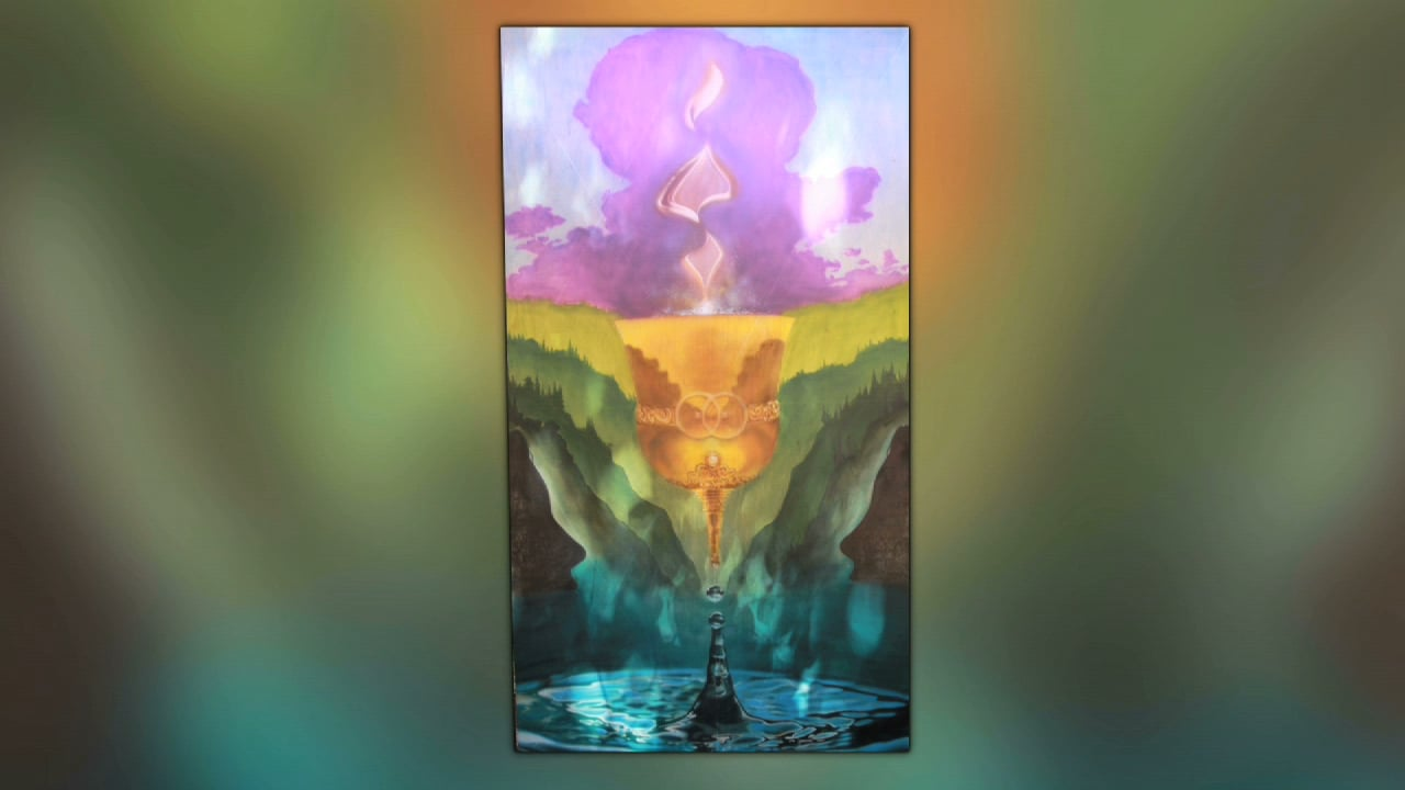 Eric Nez Live Painting - Beloved 2016