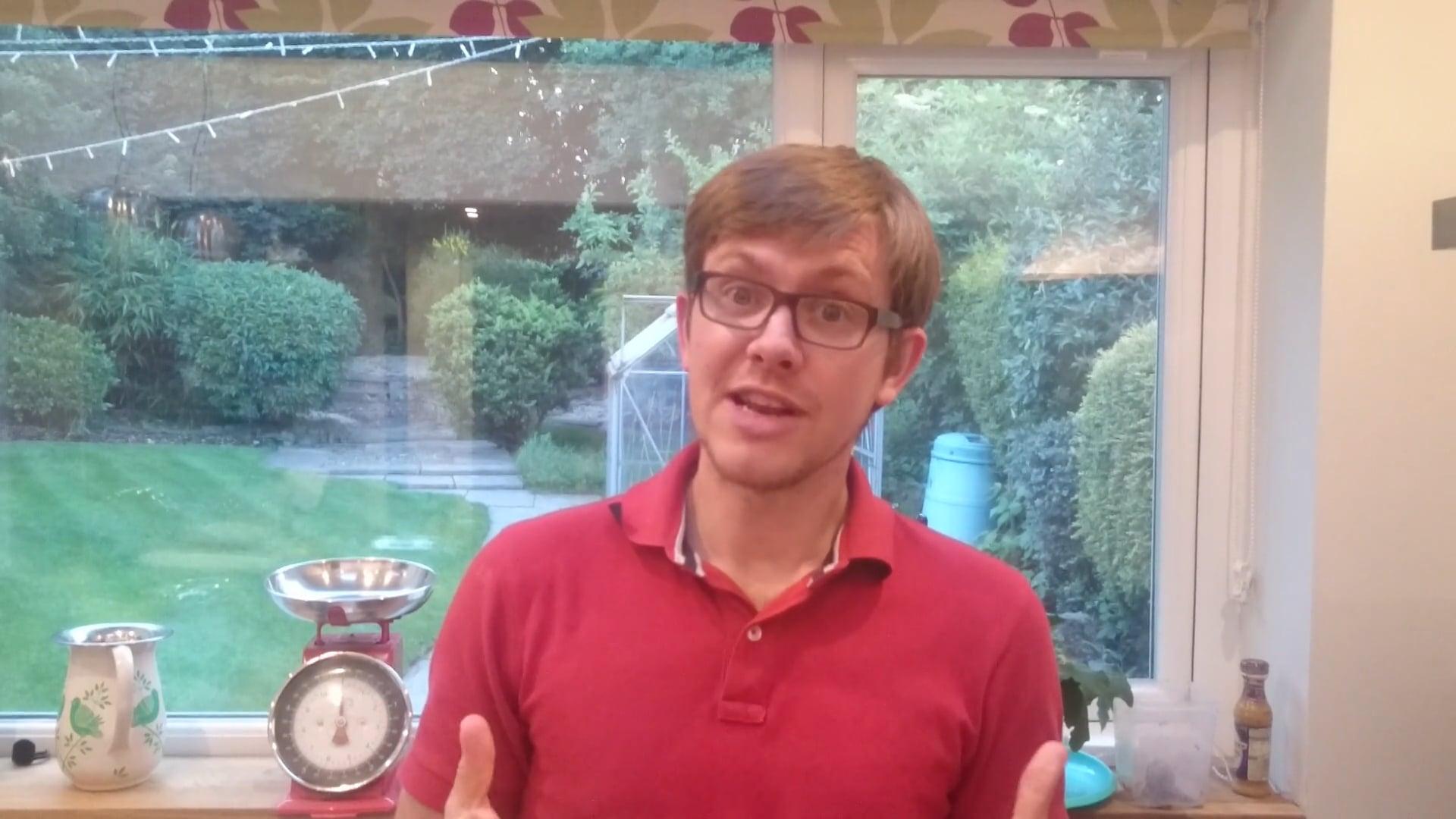 Meet Ian and hear why he's a christian