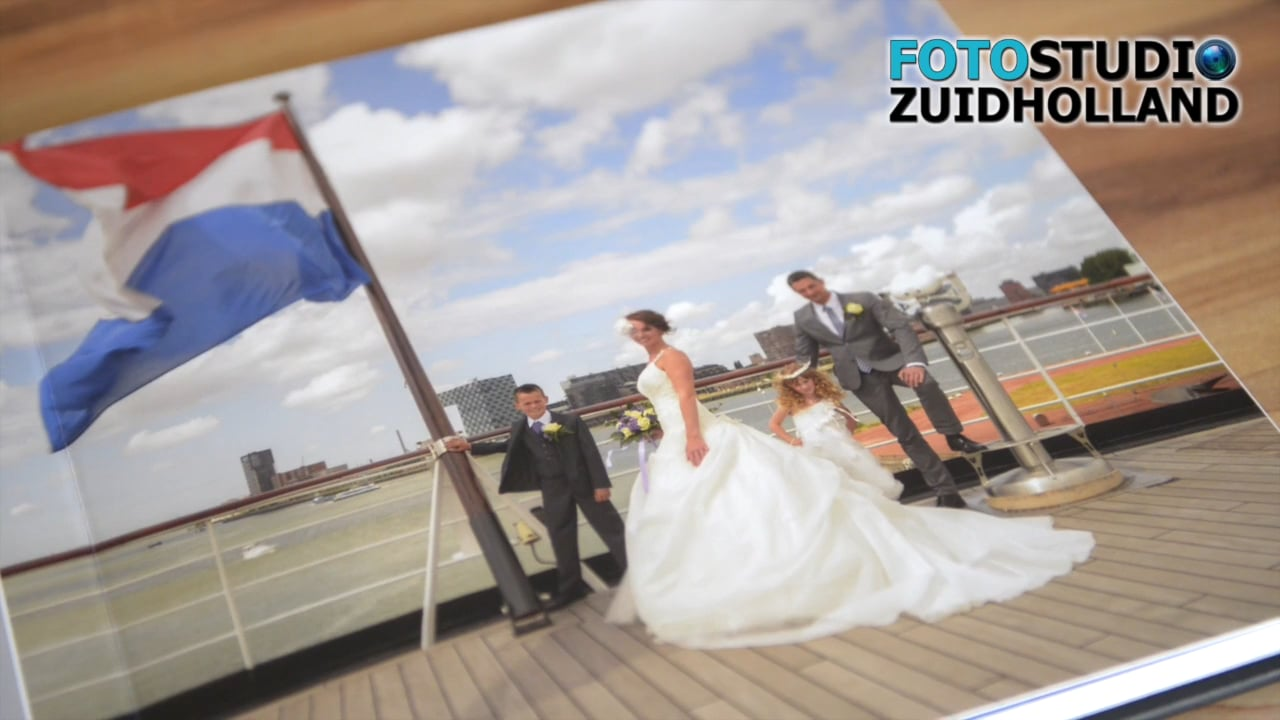 Trouwalbum Fotostudio ZuidHolland