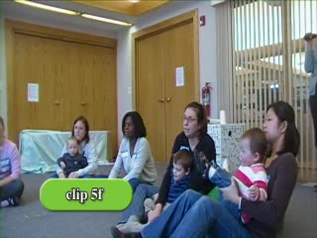 PIWI: Parents Interacting with Infants - Clip 5f