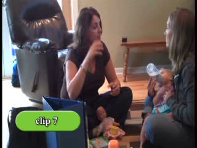 PIWI: Parents Interacting with Infants - Clip 7