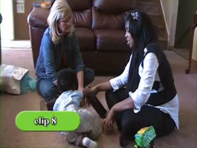 PIWI: Parents Interacting with Infants - Clip 8
