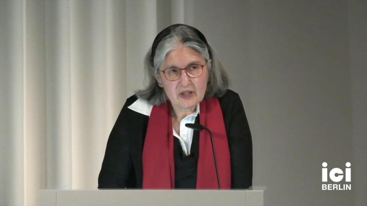Talk by Lorraine Daston