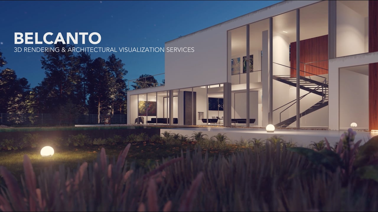 3D RENDERING & ARCHITECTURAL VISUALIZATION SERVICES