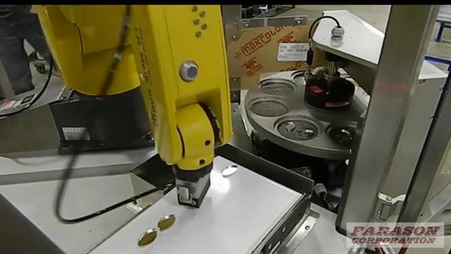 J1622 Pan Feeding Machine