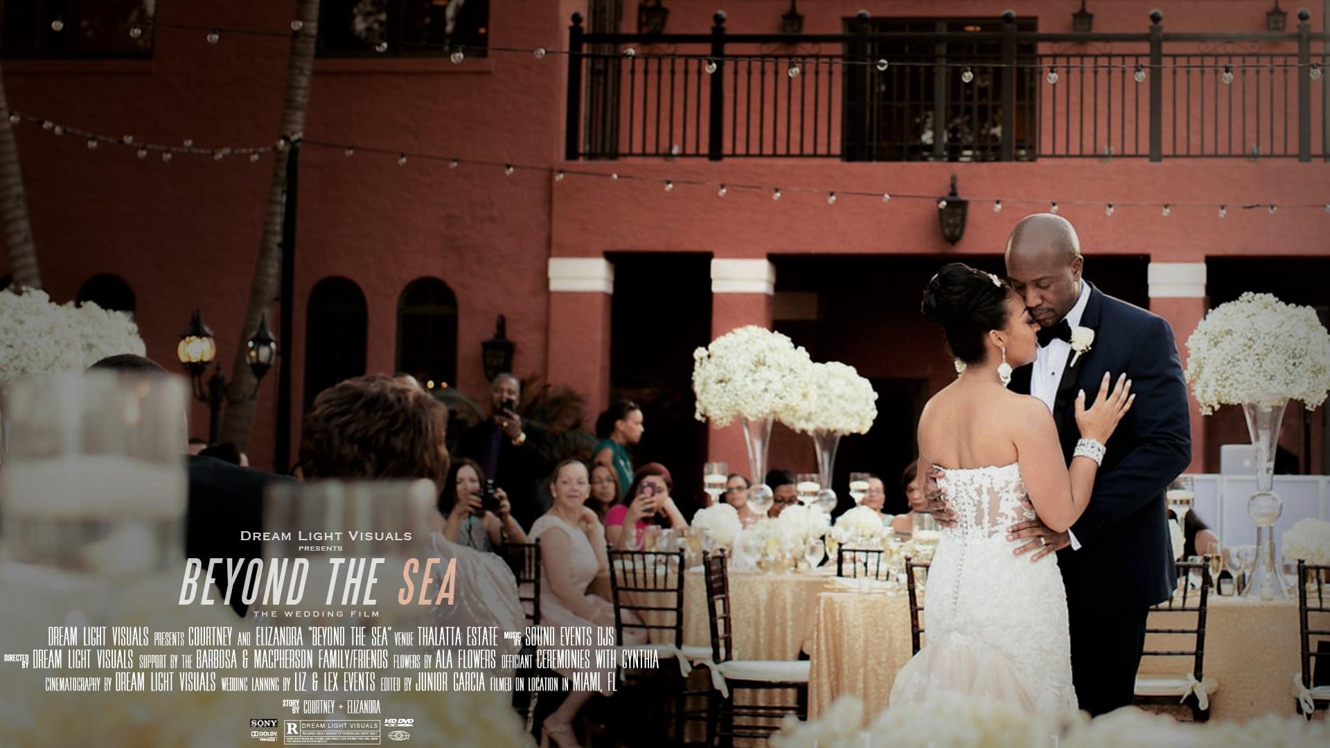 Thalatta Estate Wedding Film | Miami, FL | Courtney & Elizandra
