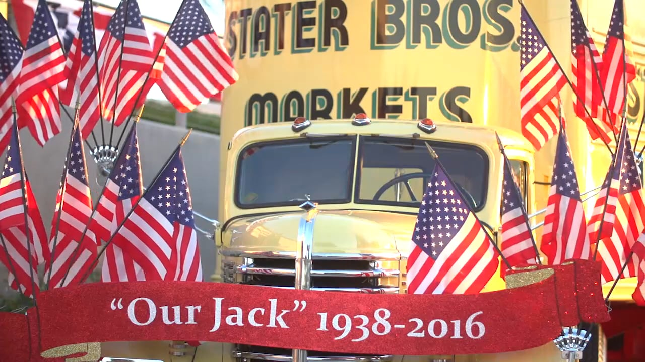 Celebration of Life – Jack H. Brown Executive Chairman Stater Bros. – Citizens Business Bank Arena