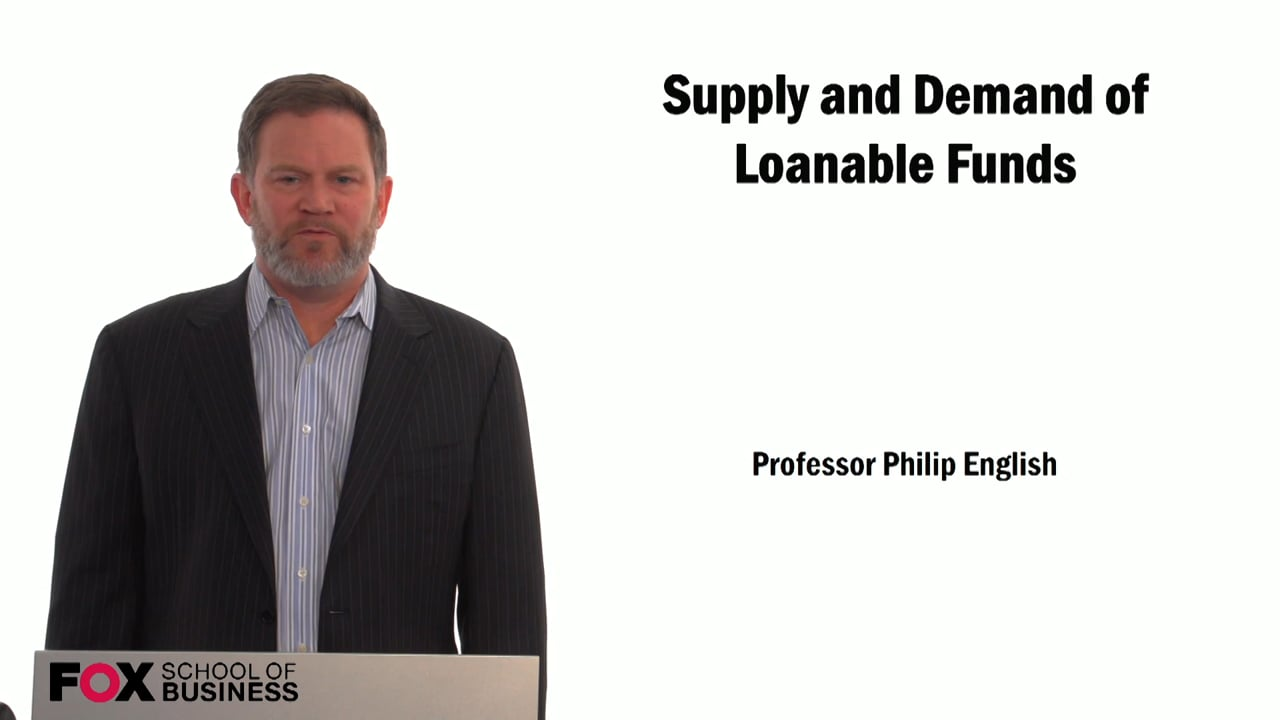 59295Supply and Demand of Loanable Funds