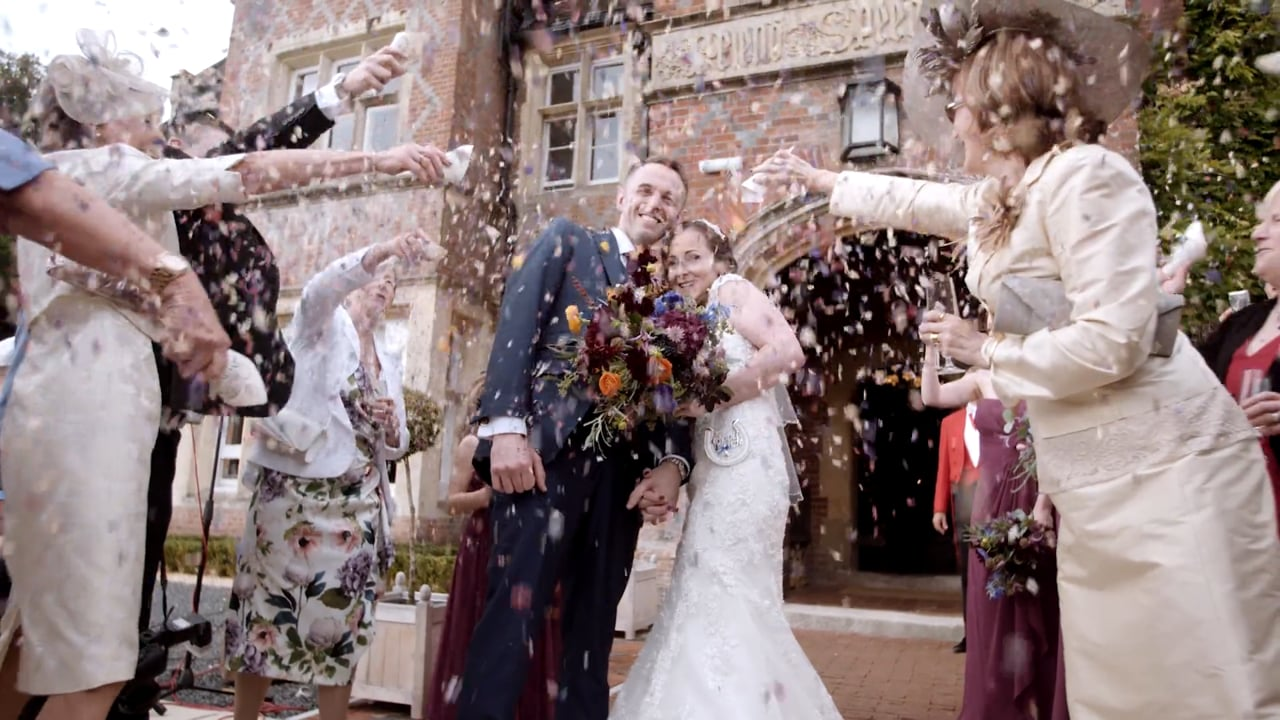 Claire and Adam - Burley Manor. New forest, Hampshire