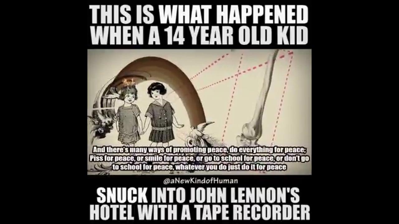 Jerry Levitan & John Lennon
