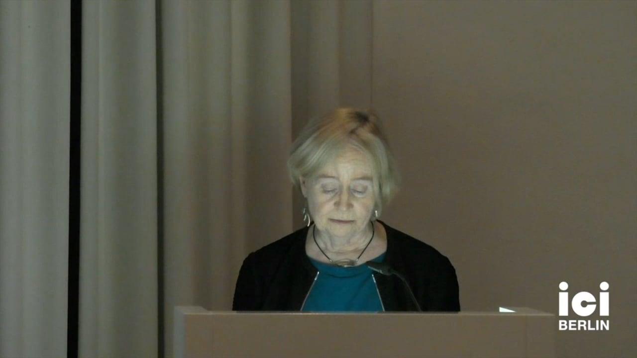 Talk by Mary Ann Doane