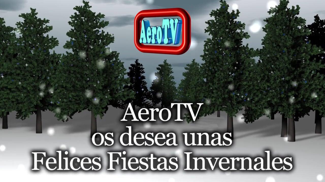 Felices Fiestas Invernales de AeroTV y Aviación ULM o Ultraligera