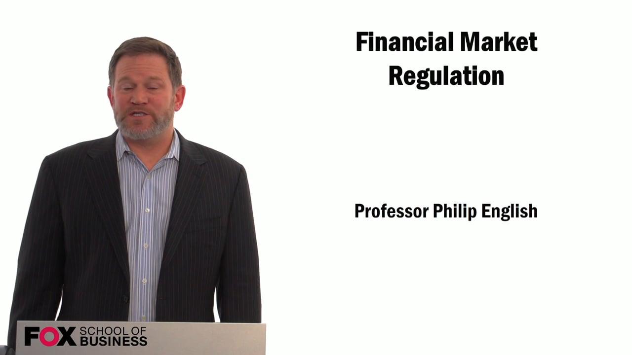 59286Financial Market Regulation