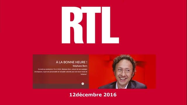 Radio / RTL › À la Bonne Heure avec Stéphane Bern / Filae.com