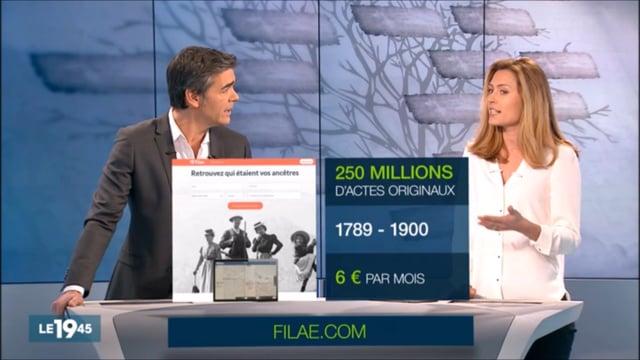 TV / M6 › Journal Télévisé de 19h45 / Filae.com