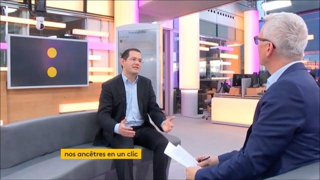 TV / FranceTVInfo › Interview de Toussaint Roze par Jean-Paul Chapel / Filae.com
