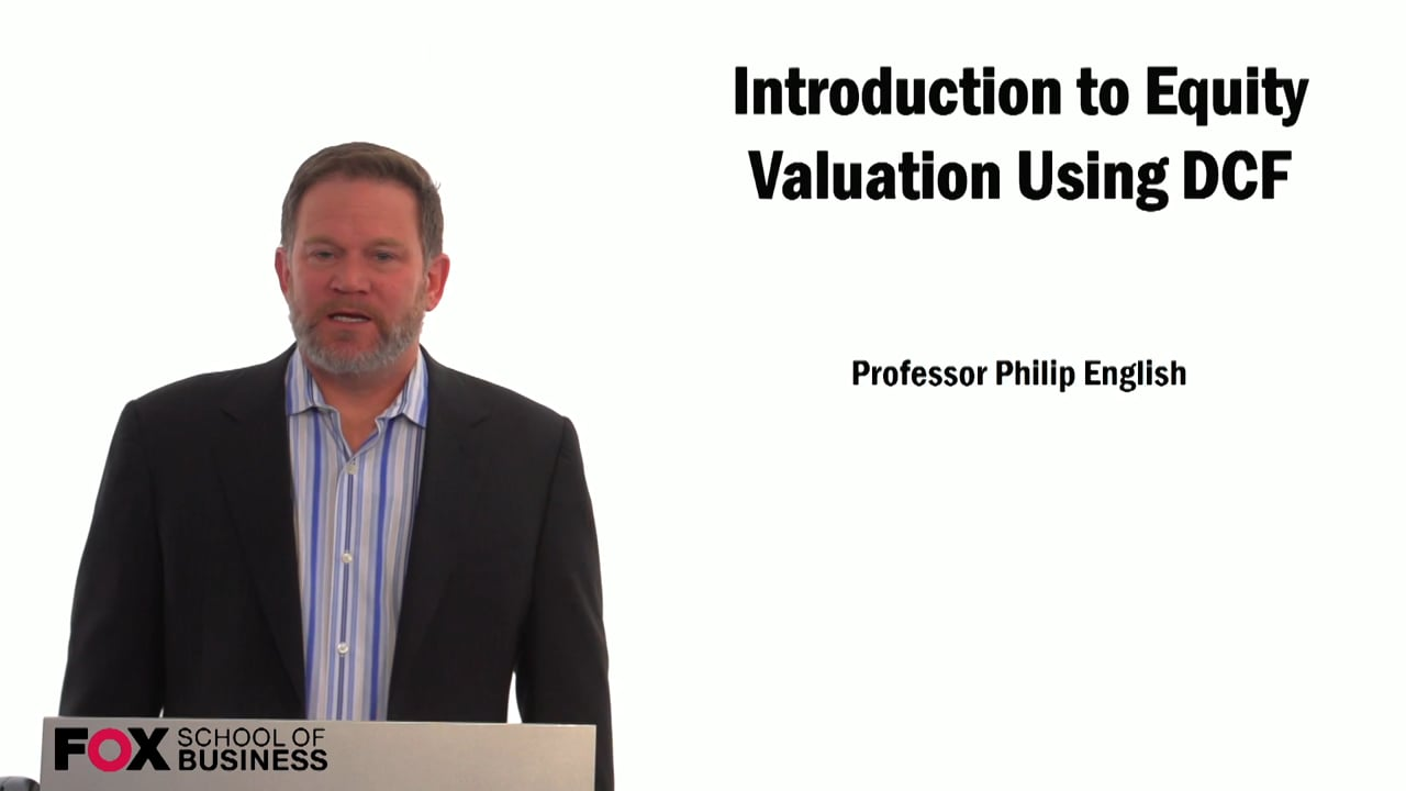 59305Introduction to Equity Valuation Using DCF