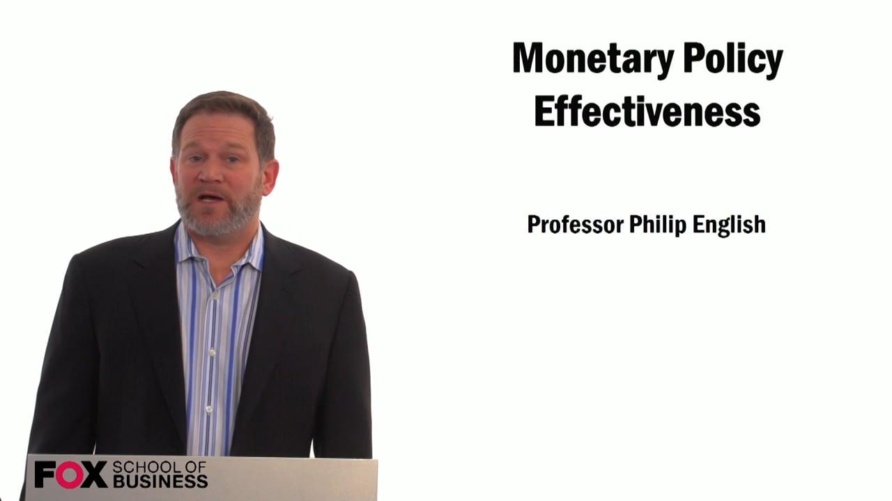 59300Monetary Policy Effectiveness