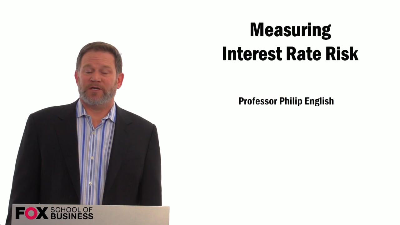 59299Measuring Interest Rate Risk