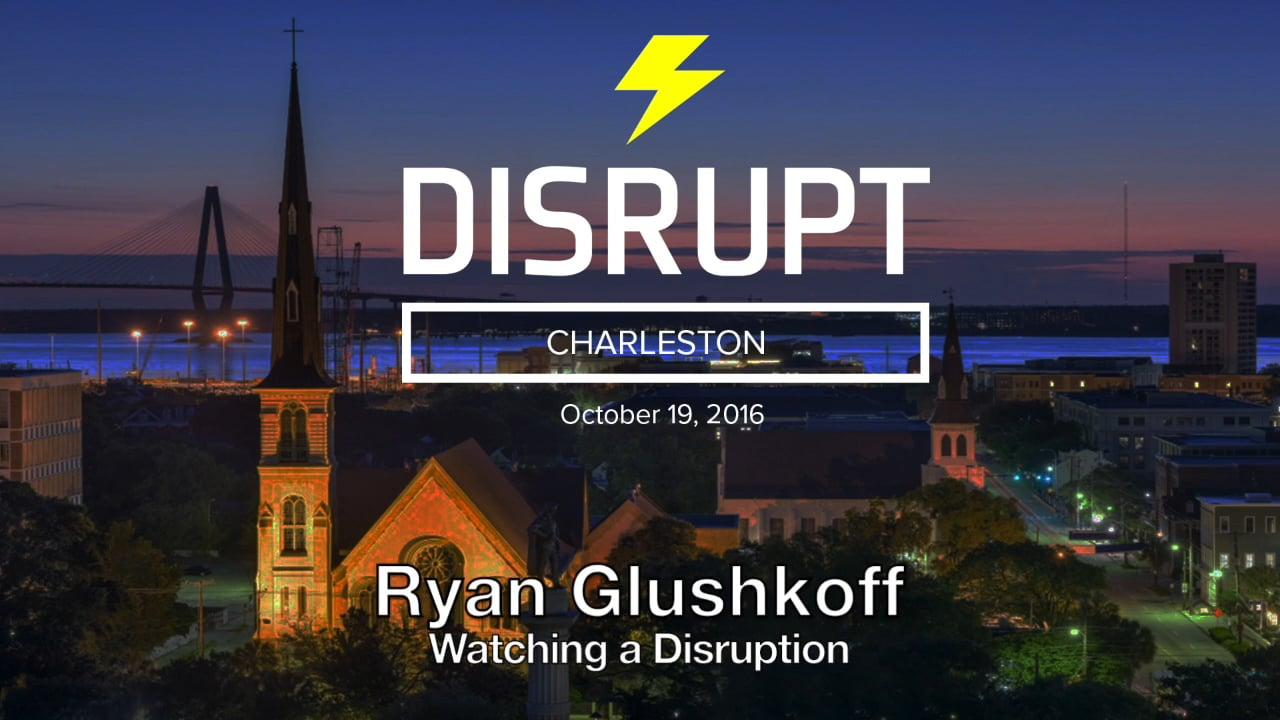 Watching A Disruption   Ryan Glushkoff   DisruptHR Talks