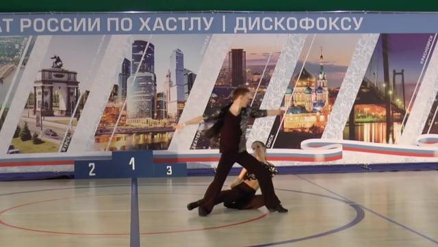 Чемпионат России 2016, Артем Голубев - Светлана Галкина, slow
